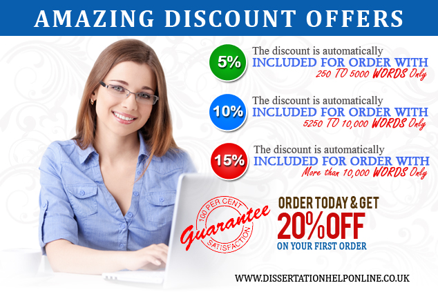 Dissertation Help Online UK - Amazing Discounts